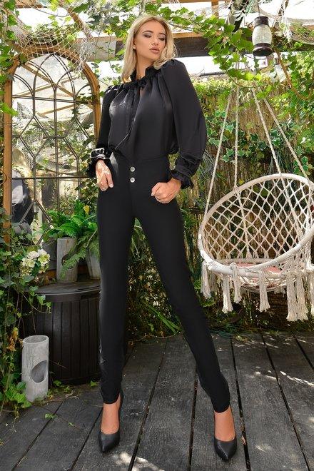 Blugi Black Jeans din Colectie Foggi Charming