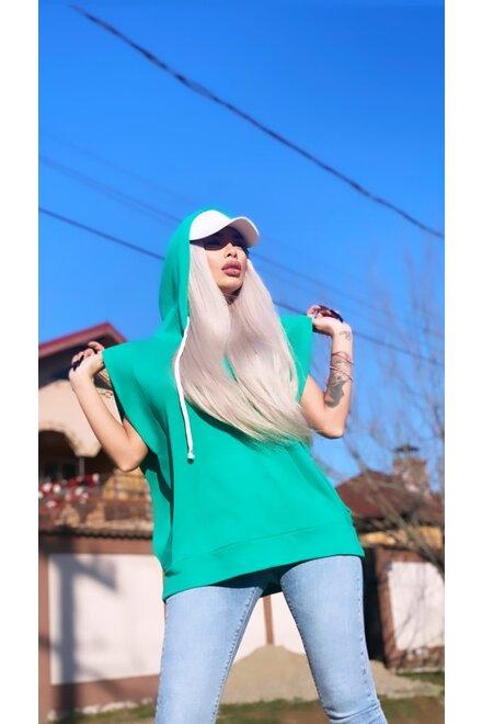 Bluza dama hanorac AQUA SPRING HIT oversized