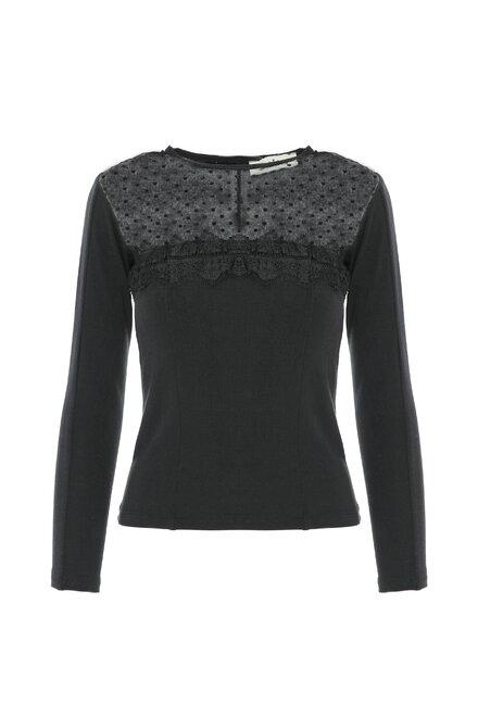 Bluza dama IT'S REAL BLACK din colectia Foggi November Street