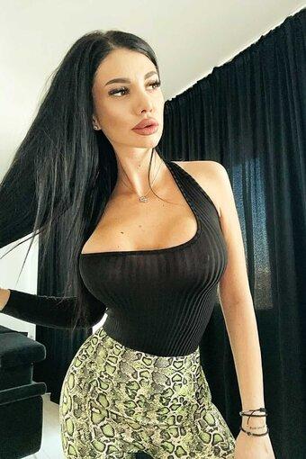 Body dama BLACK SENSUAL TOP elastic