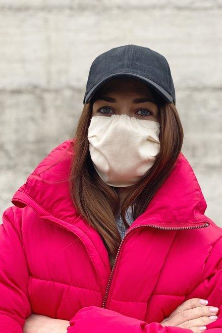Masca protectie 100% bumbac reutilizabila - set 10 bucati