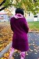 Palton dama TEDDY COAT din blanita ecologica