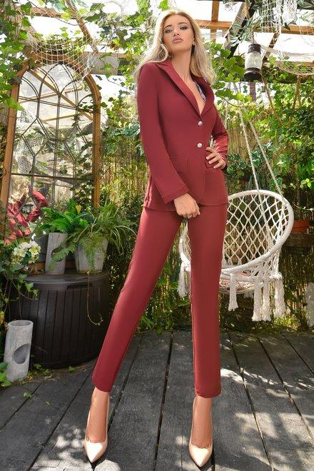 Pantaloni dama AUTUMN IN THE CITY din colectia Foggi Charming