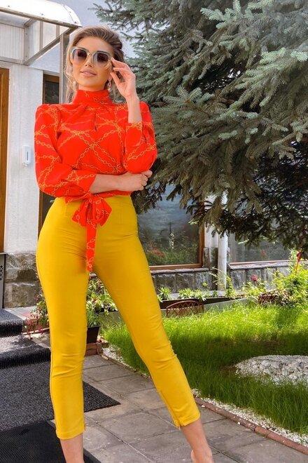Pantaloni dama SUNNY VIBE conici