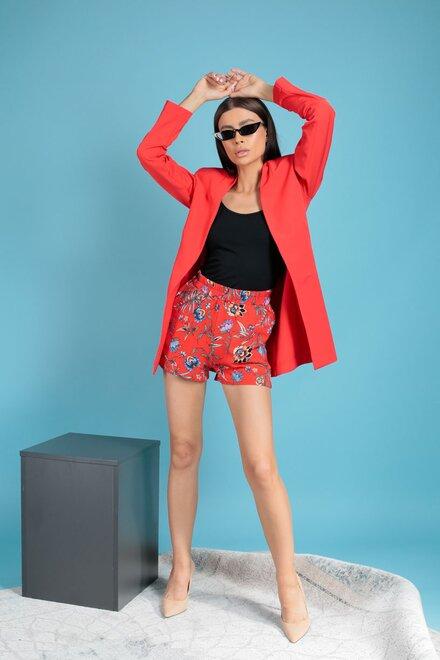 Pantaloni scurti dama JAMAICA cu elastic in talie