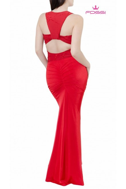 Rochie All Night Long Red
