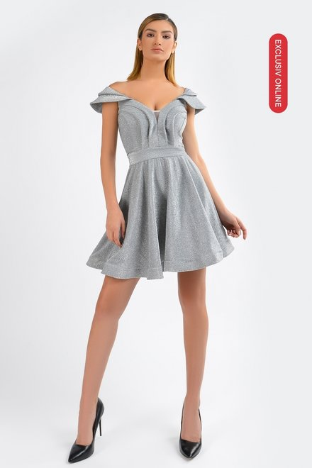 Rochie dama BE BEAUTYFUL GREY din colectia EXCLUSIV ONLINE
