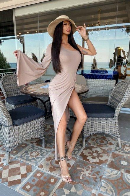 Rochie dama elastica SUPER SEXY DIVA cu body