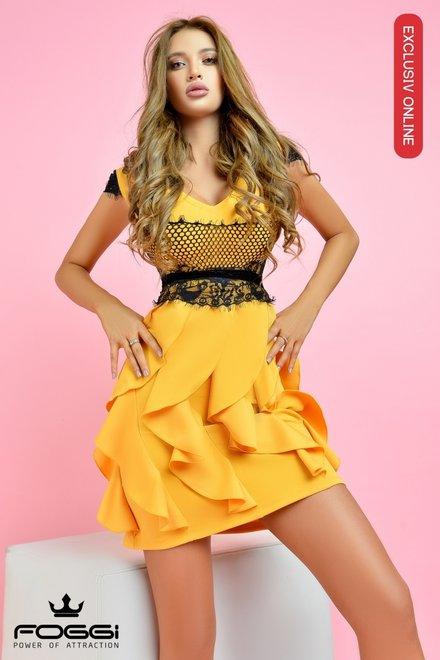 Rochie dama LIKE A STAR CUREA INCLUSA din colectia Exclusiv Online