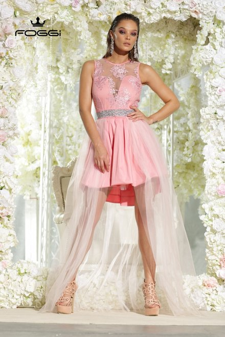 ROCHIE DAMA LOVELY PROM DRESS DIN COLECTIA FOGGI PRINCESS COLLECTION