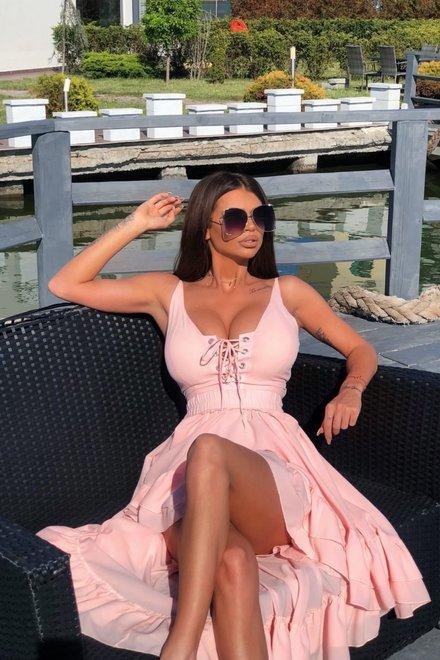 Rochie dama SUMMER LOVE asimetrica