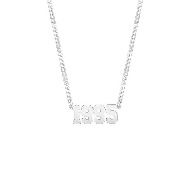 Colier Argint 925 decupaj an prindere laterala
