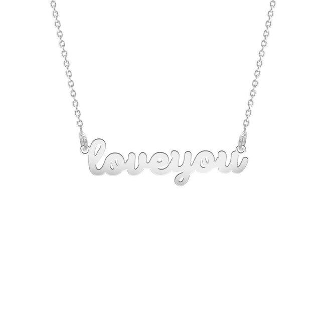Colier Argint 925 love you