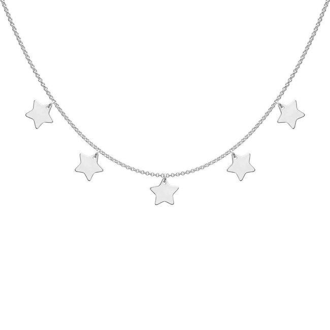 Colier argint SHINING STARS
