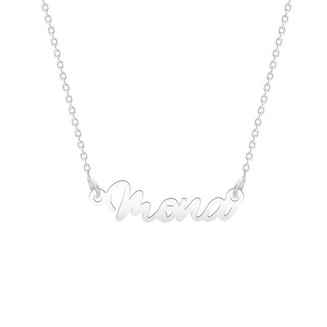 Colier Argint 925 nume decupat - semnatura