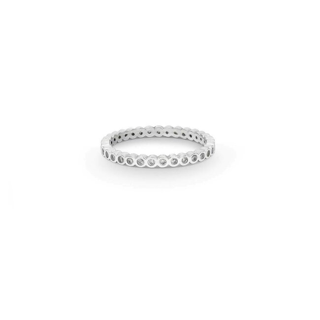 Inel argint WHITE ESSENTIAL