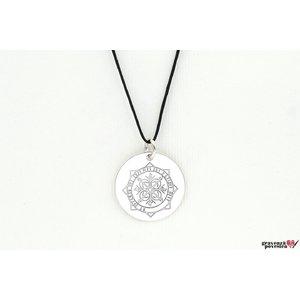 Pandantiv banut 19 mm personalizat gravura foto Argint 925 Premium